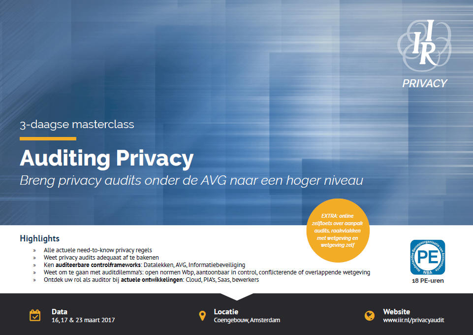 Masterclass Auditing Privacy